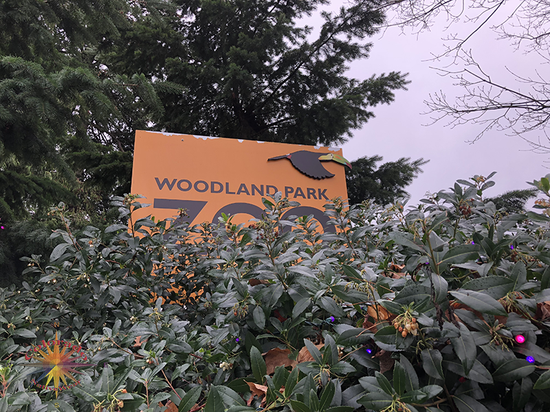 Woodland Park Zoo Seattle they just want to make sure you know where you are going on this zoo hike