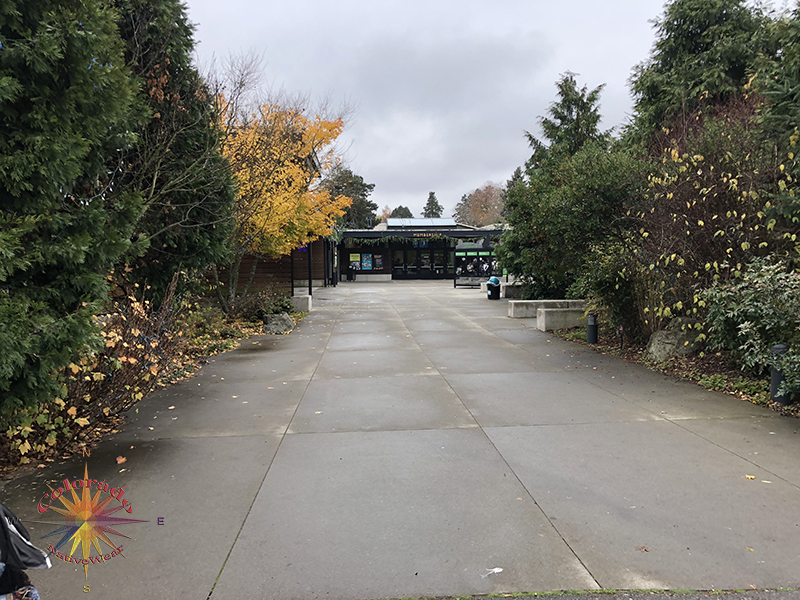 Woodland Park Zoo Seattle Walk from the parking area to entrance is a nice park stroll
