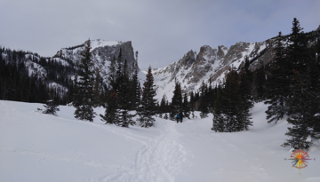 Emerald Lake Snowshoeing RMNP Photo Essay Two