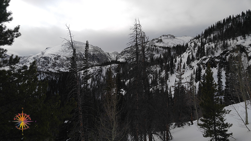 Emerald Lake Snowshoeing RMNP, Snowshoeing Emerald Lake Photo Essay One Mid-January snowshoeing hike to Emerald Lake in Rocky Mountain National Park