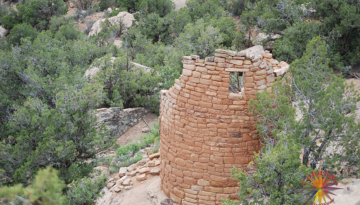 Hovenweep Monument Essay One sits on the western edge of Canyons of the Anicents, Four Corners area has several Pubelo Ruins by the Anasazi People