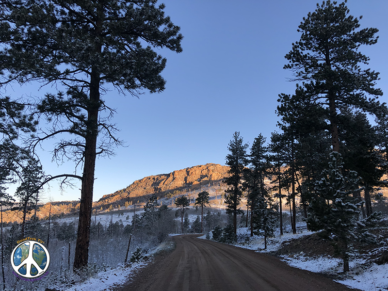 Took all most double the time to drive in this morning to Goose Creek Trail Head, with such beauty everywhere. Stopped a lot Hike Harmonica Arch Similitude 1
