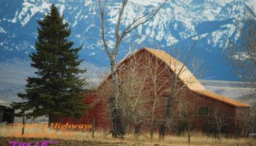 Barn-Rocky Mountains-Spring-Fir Tree-Bozeman-Trail of Highways-RoadTrek TV-Organic Content-Marketing-Social SEO-Travel-Media-