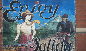 Mural on the side of Building in Salida, Colorado