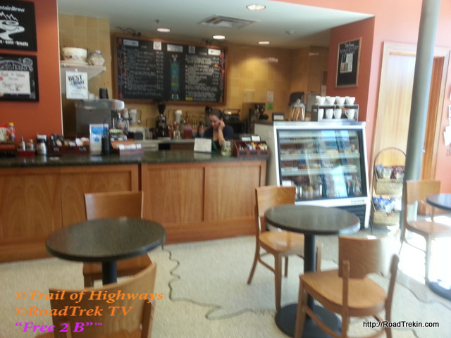 Coffee Shop in the Bud Werner Memorial Library