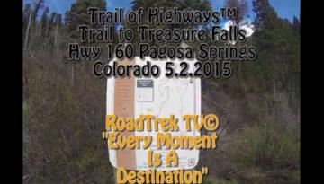 Treasure Falls-Colorado-Hiking-Photography-Pagosa Springs-Trail-Trail of Highways-RoadTrek TV-Organic Content-Marketing-Social SEO-Travel-Media-