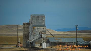 Grain-Train-Railroad-Elevator-Plains-Wheat-Montana-Photography-Trail of Highways-RoadTrek TV-Organic Content-Marketing-Social SEO-Travel-Media-