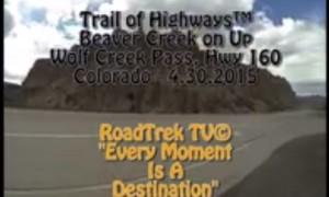 Beaver Creek on up Wolf Creek