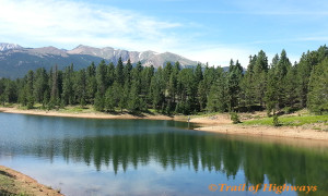 Catamount Upper Lake- Pikes Peak-Trail of Highways-RoadTrek TV-Get Lost in America-Travel Media-