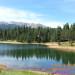 Catamount Lake and Pikes Peak