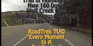 Down Wolf Creek Pass
