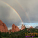 Rainbow in Garden of the Gods