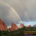 Rainbow in Garden of the Gods