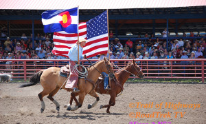 Opening Ceremony  Red Ryder Rodeo Pagosa Springs, Colorado