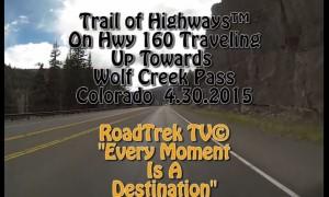 Up Towards Wolf Creek Pass