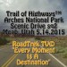 Trail of Highways™ Arches National Park Scenic Drive sq2 Moab…