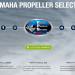 Yamaha Marine Unveils New Prop Selector