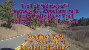 Colorado Highway 67-Deckers-North-Scenic Drive-Trail of Highways-RoadTrek TV-Organic Content-Marketing-Social SEO-Travel-Media-