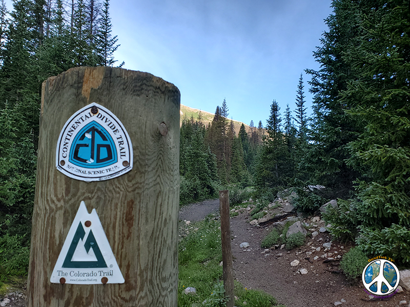 Have an obsession with photographing trail signs, Colorado Continental Divide Trail