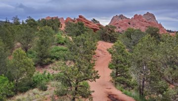 Garden Loop Hike 1-2 through Garden of the Gods, in Colorado Springs Colorado. We ventured on a short loop taking in all the sites except walking through what we call the main garden