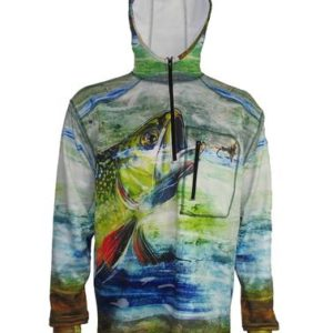 Brook Trout Fishing Shirts Adventure Fishing Hoodies
