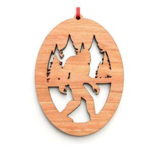 Sasquatch Backwoods Ornament