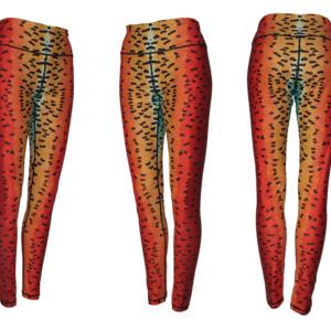 Rainbow Trout Patterned Leggings