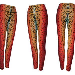 Rainbow Trout Leggings Yoga Pants