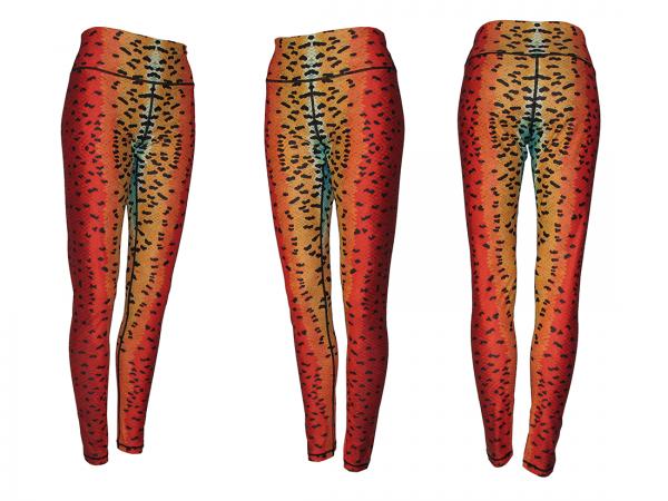 Rainbow Trout Leggings Yoga Pants