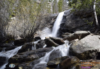 Bridal Veil Falls, Rocky Mountain National Park,Hiking, cow creek trail