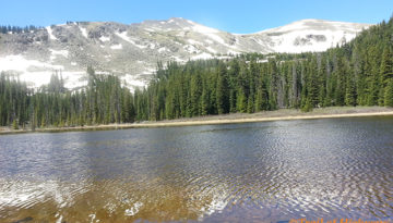 Hartenstein Lake, Collegiate Peaks wilderness,