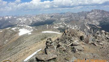 Mount Yale Hike 1-5 Colorado 14er Video Trail