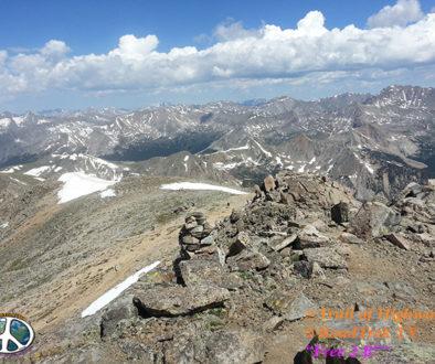 Mount Yale, Collegiate Peaks Wilderness, 14er, Colorado,