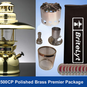 Premier Package Polished Brass 500CP