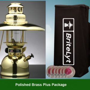 Plus Package Polished Brass 500CP Lantern