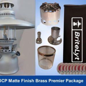 BriteLyt 500CP XL Matte Finish Brass Lantern