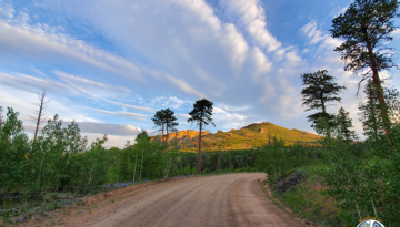 Forest Service Road 211 in Pike National Forest offers many destinations