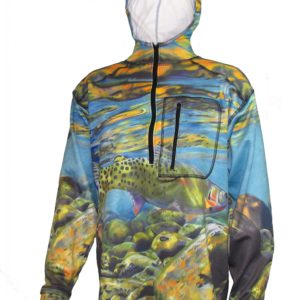 Freestone 1/4-Zip Fishing Shirts Adventure Fishing Hoodies