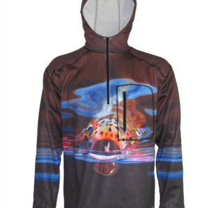 Mayfly Snack Fishing Shirts Adventure Fishing Hoodie