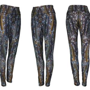 Trout Dreams Patterned Leggings