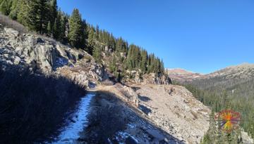 Alpine Tunnel trail from Hancock Colorado