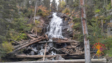 Hike to Fern Lake, Rocky Mountain National Park, Episode Two Fern Falls on the way to Fern Lake or Spruce Lake up past the pool