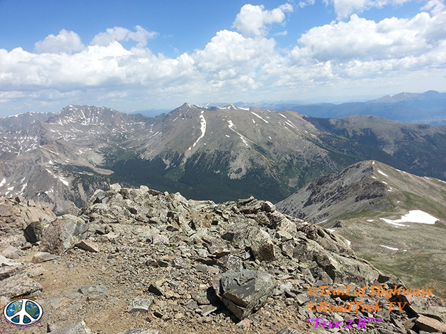 """Ascending Majestic Colorado """"14ers"""" The Centennial State is heralded by many for its truly majestic beauty. A large part of that magical scenery comes from the 58 mountain peaks (the most of any State) that exceed 14,000 feet. They are so amazing, in fact, that they are known as the """"14ers."""""""
