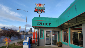 101 Diner in Sequim Washington food misses the mark in taste and is over priced