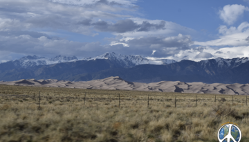 Cosmic Highway Video 1-1 heading to Great Sand Dunes National Park, started recording this journey on US 285 at Poucha Springs, Colorado after having a burger at Hunger Junction. Burger was pretty Good.