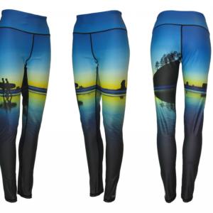 Surf's Up Patterned Leggings