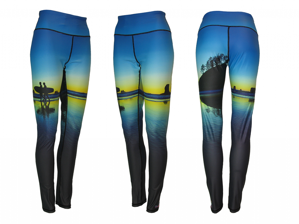 Surf's Up Yoga Pants All Sport Leggings, Catch a wave or enjoy a hike, these are the most comfortable Yoga Pants you will ever wear, ride the board and hang ten on the biggest curl you have ever rode while looking your best