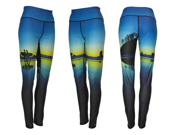 Surf's Up Yoga Pants All Sport Leggings, Catch a wave or enjoy a hike, these are the most comforable Yoga Pants you will ever wear.