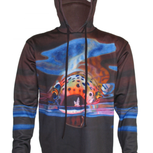 Hoodie Fly Fishing Apparel The Snack Rainbow Trout A D Maddox