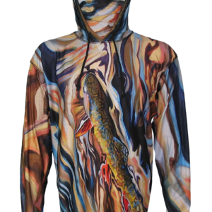 AD Maddox Fly Fishing Apparel from Fly Fishing Art Book Trout on the Upper Gros Ventre